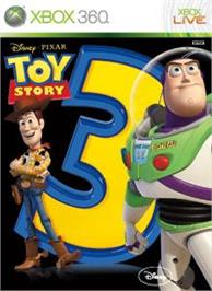 Box cover for Toy Story 3 on the Microsoft Xbox 360.