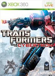 Box cover for Transformers: WFC on the Microsoft Xbox 360.