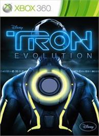 Box cover for Tron: Evolution on the Microsoft Xbox 360.