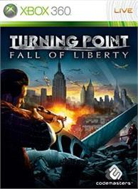 Box cover for Turning Point on the Microsoft Xbox 360.