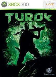 Box cover for Turok on the Microsoft Xbox 360.