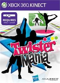 Box cover for Twister Mania on the Microsoft Xbox 360.
