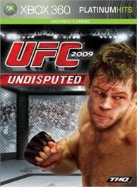 Box cover for UFC 2009 Undisputed on the Microsoft Xbox 360.