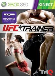 Box cover for UFC Personal Trainer on the Microsoft Xbox 360.