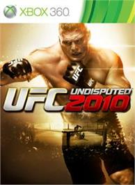 Box cover for UFC Undisputed 2010 on the Microsoft Xbox 360.