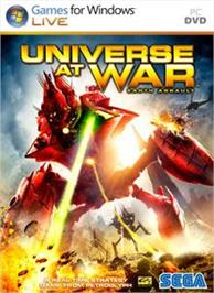 Box cover for Universe at War on the Microsoft Xbox 360.