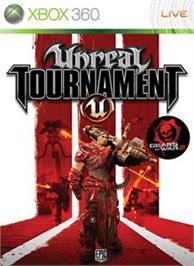 Box cover for Unreal Tournament® 3 on the Microsoft Xbox 360.