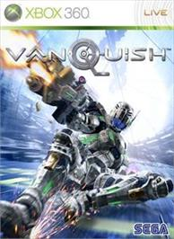 Box cover for VANQUISH on the Microsoft Xbox 360.