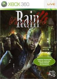 Box cover for Vampire Rain on the Microsoft Xbox 360.
