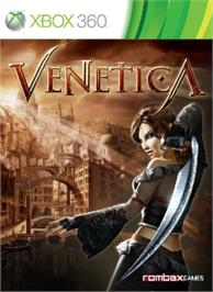 Box cover for Venetica on the Microsoft Xbox 360.