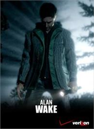 Box cover for Verizon Alan Wake on the Microsoft Xbox 360.
