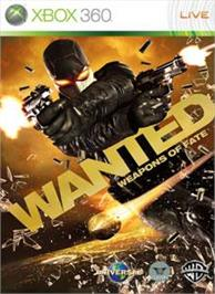 Box cover for WANTED:Weapons of Fate on the Microsoft Xbox 360.