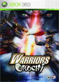 Box cover for WARRIORS OROCHI on the Microsoft Xbox 360.