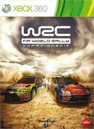 Box cover for WRC 2010 on the Microsoft Xbox 360.