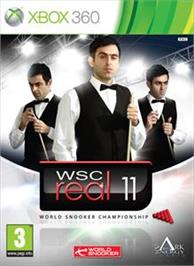 Box cover for WSC Real 2011 on the Microsoft Xbox 360.