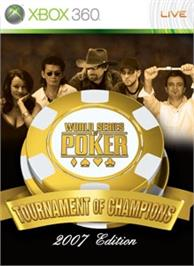 Box cover for WSOP: TOC on the Microsoft Xbox 360.