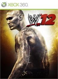 Box cover for WWE '12 on the Microsoft Xbox 360.