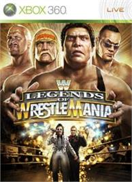 Box cover for WWE Legends on the Microsoft Xbox 360.