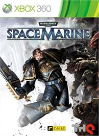 Box cover for Warhammer® 40,000®: Space Marine® on the Microsoft Xbox 360.