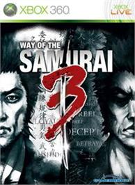 Box cover for Way of the Samurai 3 on the Microsoft Xbox 360.