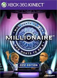 Box cover for Who Wants To Be A Millionaire on the Microsoft Xbox 360.