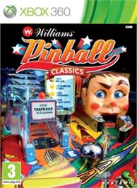 Box cover for Williams Pinball Classics on the Microsoft Xbox 360.