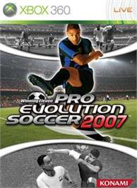 Box cover for Winning Eleven 2007 on the Microsoft Xbox 360.