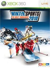 Box cover for Winter Sports 2010 on the Microsoft Xbox 360.