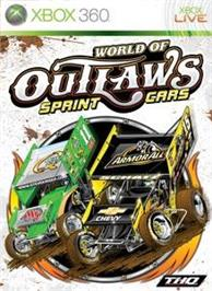 Box cover for WoO: Sprint Cars on the Microsoft Xbox 360.