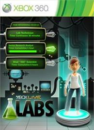 Box cover for Xbox LIVE Labs on the Microsoft Xbox 360.
