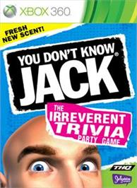 Box cover for YOU DONT KNOW JACK® on the Microsoft Xbox 360.