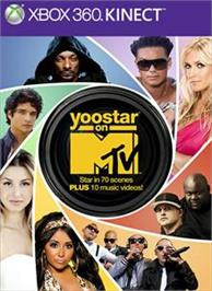 Box cover for Yoostar On MTV on the Microsoft Xbox 360.