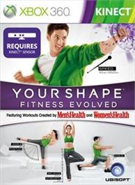 Box cover for Your Shape : Fitness Evolved on the Microsoft Xbox 360.