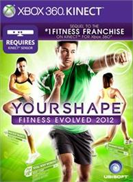 Box cover for Your Shape Fitness Evolved 2012 on the Microsoft Xbox 360.