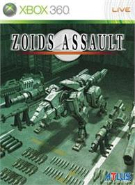 Box cover for Zoids Assault on the Microsoft Xbox 360.