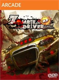 Box cover for Zombie Driver HD on the Microsoft Xbox 360.