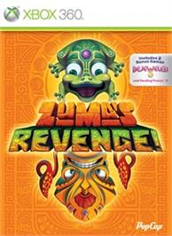 Box cover for Zuma's Revenge! Collection on the Microsoft Xbox 360.