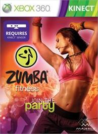 Box cover for Zumba Fitness on the Microsoft Xbox 360.