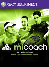Box cover for miCoach on the Microsoft Xbox 360.