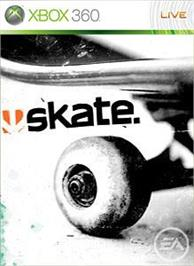 Box cover for skate. on the Microsoft Xbox 360.