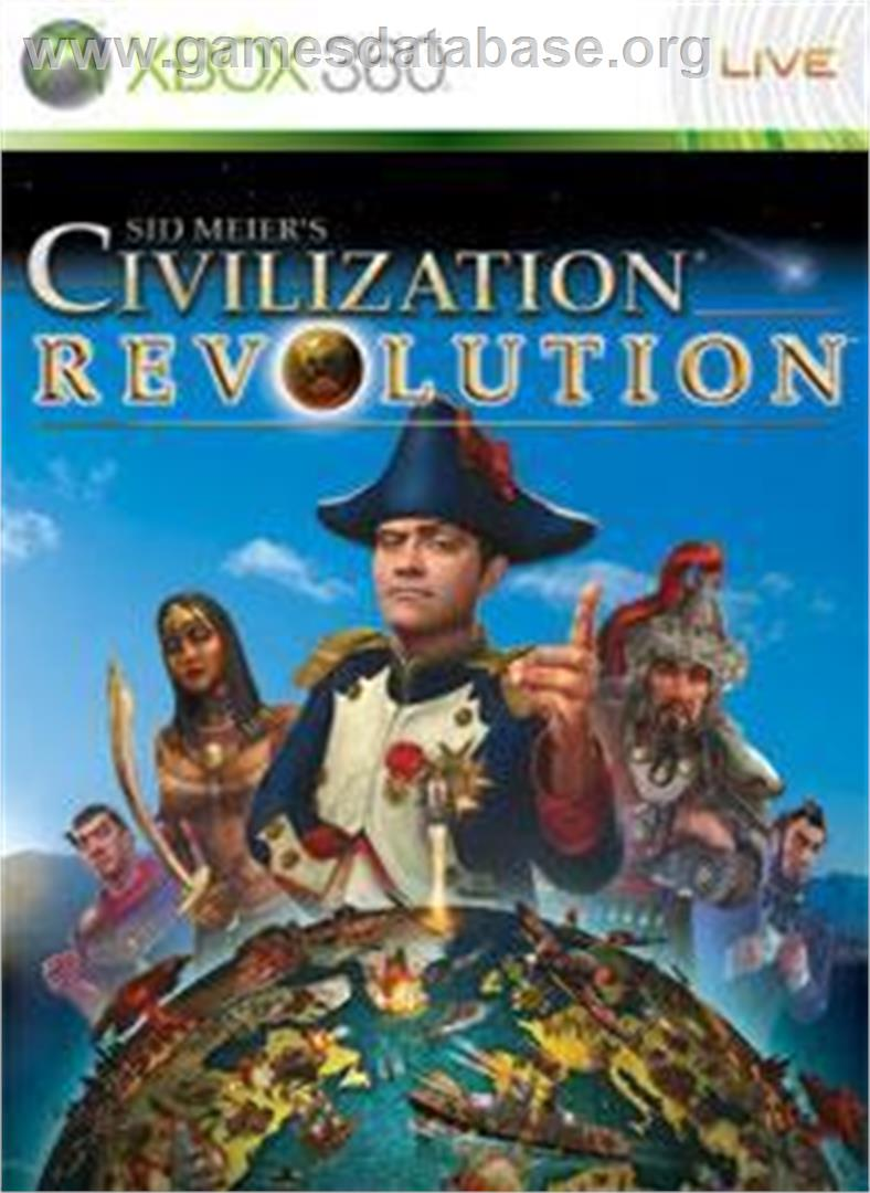 Civilization Revolution - Microsoft Xbox 360 - Artwork - Box