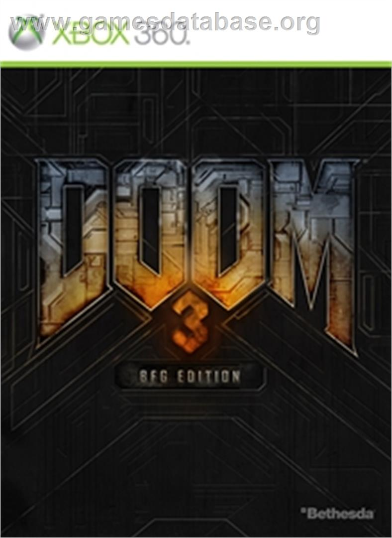 DOOM 3 BFG Edition - Microsoft Xbox 360 - Artwork - Box