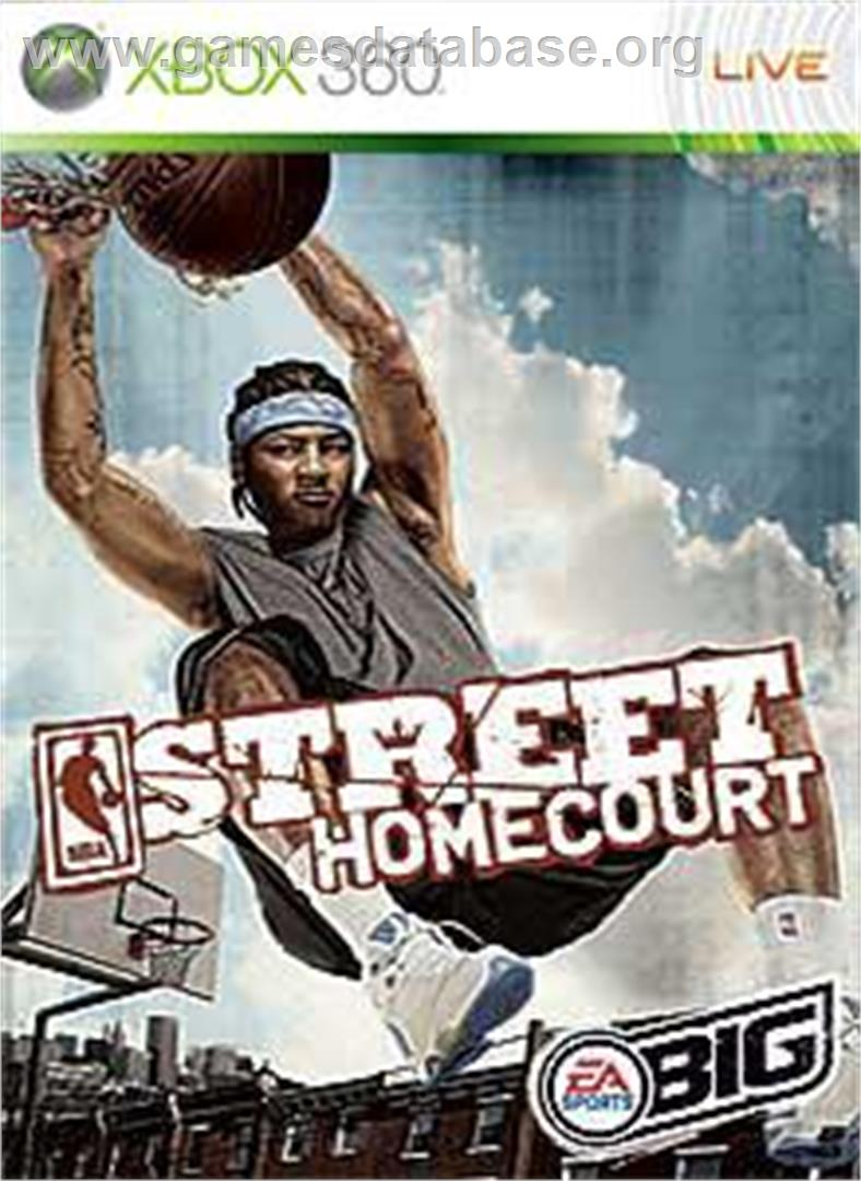 NBA STREET Homecourt - Microsoft Xbox 360 - Artwork - Box