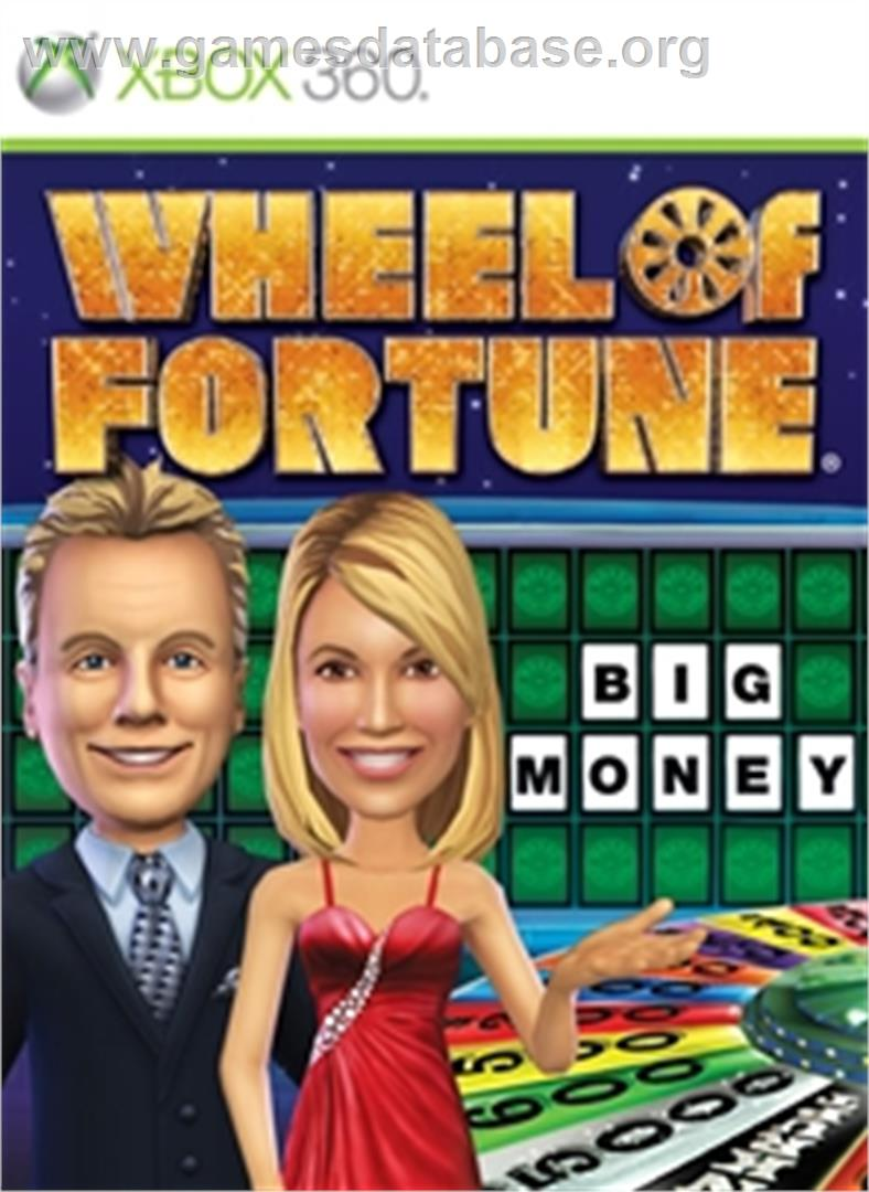 Wheel of Fortune - Microsoft Xbox 360 - Artwork - Box