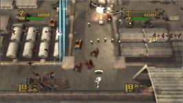 In game image of 1942: Joint Strike on the Microsoft Xbox 360.