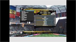 In game image of 2006 FIFA World Cup on the Microsoft Xbox 360.