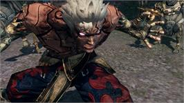 In game image of ASURA'S WRATH on the Microsoft Xbox 360.