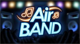 In game image of Air Band on the Microsoft Xbox 360.