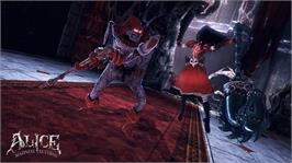 In game image of Alice: Madness Returns on the Microsoft Xbox 360.