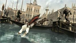 In game image of Assassin's Creed II on the Microsoft Xbox 360.